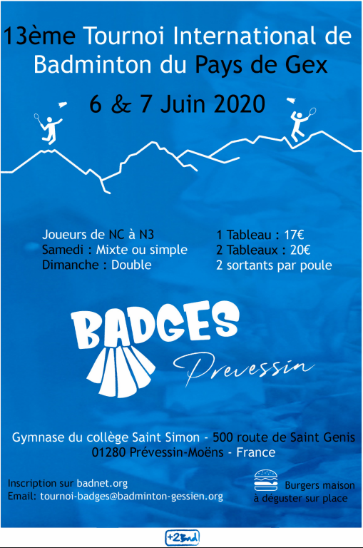 bad gessien tournoi 2018
